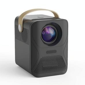 X6 1080P 4000 Lumens Mini Household Office Smart Digital Projector  Android-versie(Zwart)