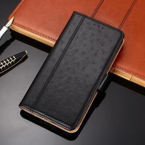Voor Huawei Mate 40 Struisvogeltextuur PU + TPU horizontale flip lederen kast met Holder & Card Slots & Wallet(Zwart)