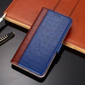 Voor Huawei Mate 40 Struisvogeltextuur PU + TPU horizontale flip lederen kast met Holder & Card Slots & Wallet(Blauw)