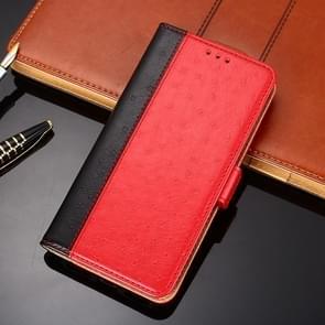 Voor Huawei Mate 40 Struisvogeltextuur PU + TPU horizontale flip lederen kast met Holder & Card Slots & Wallet(Red)