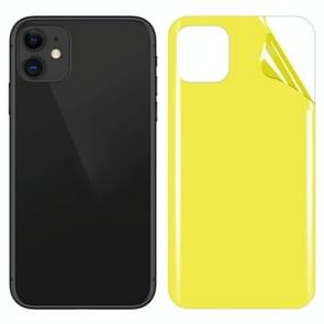 Soft TPU Full Coverage Rear Screen Protector Voor iPhone 11