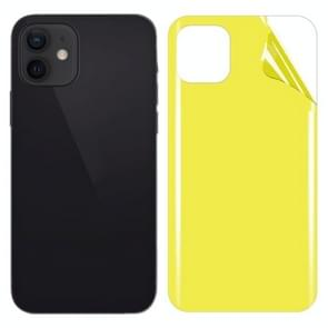 Soft TPU Full Coverage Rear Screen Protector Voor iPhone 12