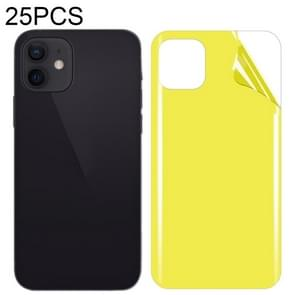 25 PCS Soft TPU full coverage screenprotector aan de achterkant voor iPhone 12 mini