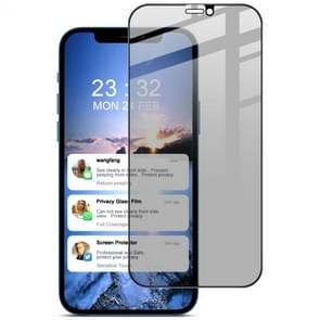 IMAK HD Anti-spion Tempered Glass Protective Film Voor iPhone 12 Pro Max