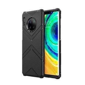 For Huawei Mate 30 Pro Diamond Shield TPU Drop Protection Case(Black)