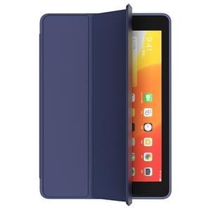 Voor iPad 10 2 Benks magnetische horizontale Flip PU lederen draagtas met houder & slaap/Wake-up functie (blauw)