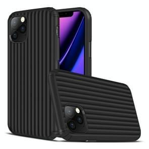 Voor iPhone 11 Pro Travel Box Shape TPU + PC Beschermhoes (Zwart)