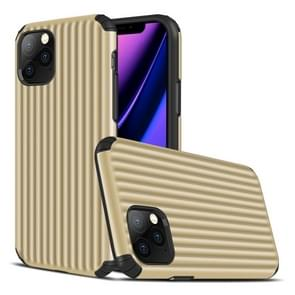 For iPhone 11 Pro Travel Box Shape TPU + PC Protective Case(Gold)