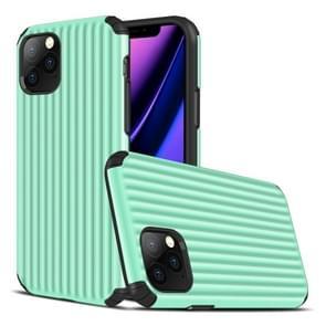 Voor iPhone 11 Pro Travel Box Shape TPU + PC Beschermhoes (Mint Green)