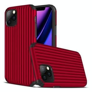 Voor iPhone 11 Pro Travel Box Shape TPU + PC Beschermhoes (Rood)