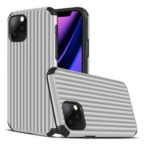Voor iPhone 11 Pro Travel Box Shape TPU + PC Beschermhoes (Zilver)