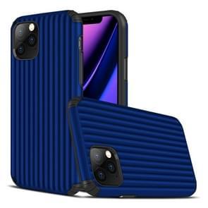 Voor iPhone 11 Pro Travel Box Shape TPU + PC Beschermhoes (Sapphire Blue)