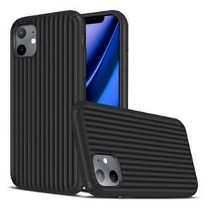 Voor iPhone 11 Travel Box Shape TPU + PC Beschermhoes (Zwart)