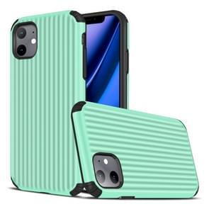 Voor iPhone 11 Travel Box Shape TPU + PC Beschermhoes (Mint Green)