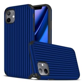 Voor iPhone 11 Travel Box vorm TPU + PC beschermhoes (Sapphire Blue)