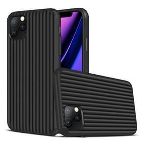 Voor iPhone 11 Pro Max Travel Box Shape TPU + PC Beschermhoes (Zwart)