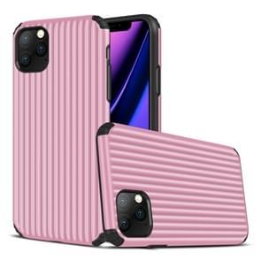 Voor iPhone 11 Pro Max Travel Box Shape TPU + PC Beschermhoes (Roze)