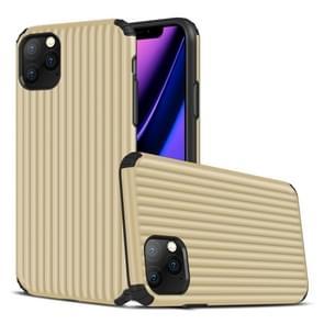 Voor iPhone 11 Pro Max Travel Box Shape TPU + PC Beschermhoes (Goud)