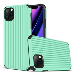 Voor iPhone 11 Pro Max Travel Box Shape TPU + PC Beschermhoes (Mint Green)