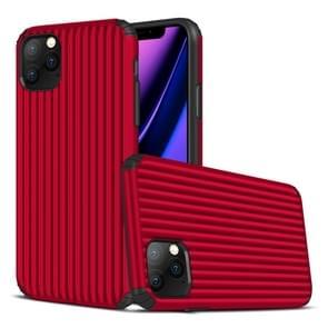 Voor iPhone 11 Pro Max Travel Box Shape TPU + PC Beschermhoes (Rood)