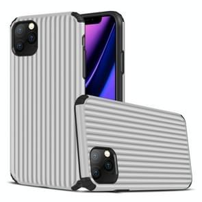 Voor iPhone 11 Pro Max Travel Box Shape TPU + PC Beschermhoes (Zilver)