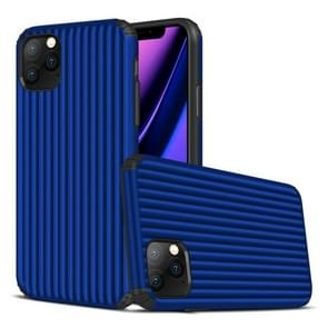 For iPhone 11 Pro Max Travel Box Shape TPU + PC Protective Case(Sapphire Blue)