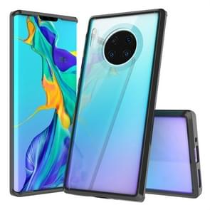 For Huawei Mate 30 Pro Scratchproof TPU + Acrylic Protective Case(Black)