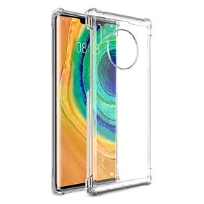 For Huawei Mate 30 Pro IMAK All Coverage Shockproof Airbag TPU Case(Transparent)