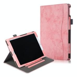 For iPad Pro 10.5 Cowhide Texture Horizontal Flip Leather Case With Holder & Sleep / Wake-up Function(Pink)