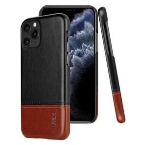 For iPhone 11 Pro IMAK Ruiyi Series Concise Slim PU + PC Protective Case(Black+Brown)