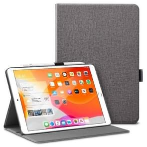 ESR For iPad 10.2 inch Simplicity Series PC + PU Horizontal Flip Leather Case with Holder & Pen Slot & Sleep / Wake-up Function(Grey)