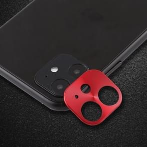 For iPhone 11 Rear Camera Lens Protective Film Small White Box(Red)