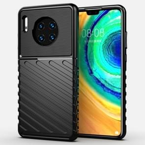For Huawei Mate 30 Thunderbolt Shockproof TPU Soft Case(Black)