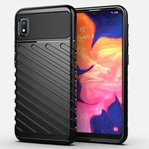 For Galaxy A10e Thunderbolt Shockproof TPU Soft Case(Black)