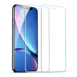 For iPhone 11 / XR 2 PCS ESR Scratchproof HD Tempered Glass Film Screen Protector
