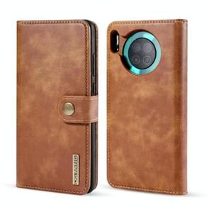 For Huawei Mate 30 DG.MING Crazy Horse Texture Flip Detachable Magnetic Leather Case with Holder & Card Slots & Wallet(Brown)