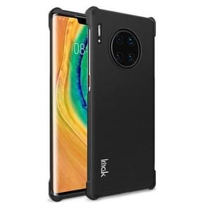 For Huawei Mate 30 Pro Four Corners Anti-Fall All-Inclusive Shockproof Airbag TPU Protective Case(Matte Black)