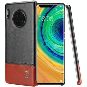 For Huawei Mate 30 Pro Ruiyi Series Concise Slim PU + PC Protective Case With Explosion-Proof Membrane(Black Brown)