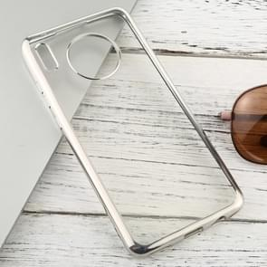 For Huawei Mate 30 Transparent TPU Anti-Drop And Waterproof Mobile Phone Protective Case(Silver)