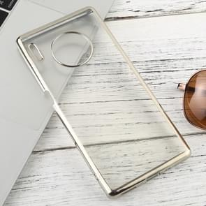 For Huawei Mate 30 Pro Transparent TPU Anti-Drop And Waterproof Mobile Phone Protective Case(Silver)