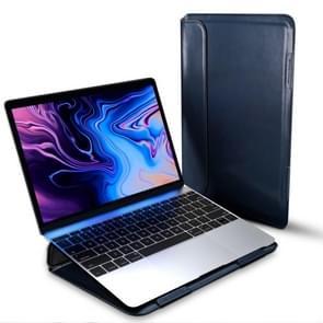 Voor MacBook 13 inch DUX DUCIS HEFI serie laptop beschermende staande Sleeve (blauw)