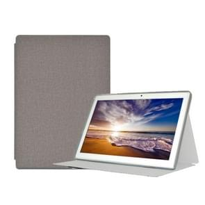For Teclast M30 PU Protective Case(Grey)