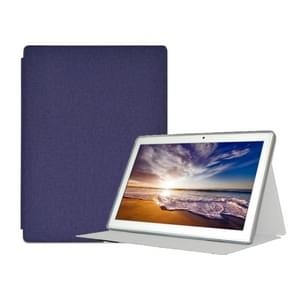 For Teclast M30 PU Protective Case(Blue)