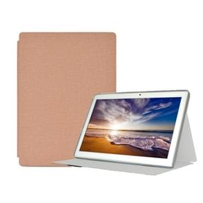 For Teclast M30 PU Protective Case(Gold)