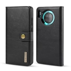 Voor Huawei mate 30 DG. MING Crazy Horse textuur Flip afneembare magnetische lederen draagtas met houder & kaartsleuven & portemonnee (zwart)