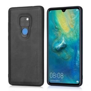For Huawei Mate 20 Diaobaolee Shockproof PU + TPU Protective Case(Black)