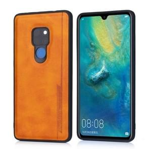 For Huawei Mate 20 Diaobaolee Shockproof PU + TPU Protective Case(Yellow)