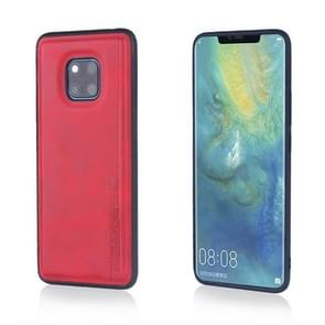 For Huawei Mate 20 Pro Diaobaolee Shockproof PU + TPU Protective Case(Red)