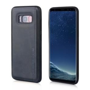 For Galaxy S8 Diaobaolee Shockproof PU + TPU Protective Case(Black)