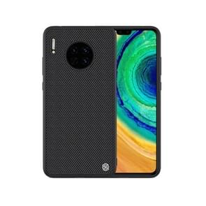 For Huawei Mate 30 NILLKIN 3D Textured Nylon Fiber PC + TPU Protective Case(Black)
